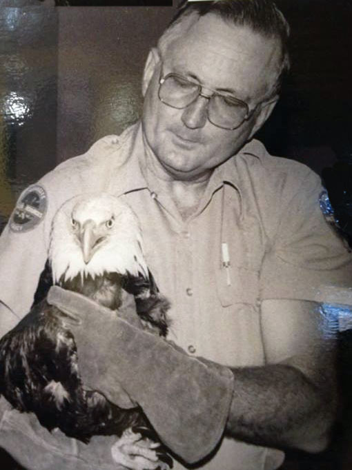 Bob Hatcher-with-eagle