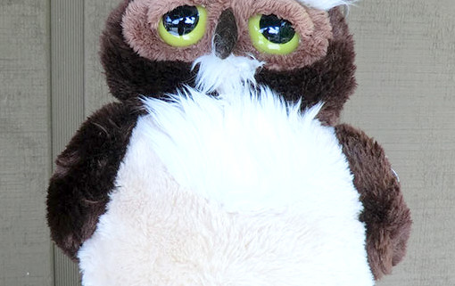 Plush Owl Toy