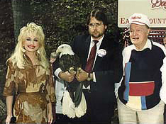Dolly Parton, Bob Hope, Al Cecere