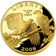 $5 Gold Proof - Obverse