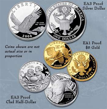 Bald Eagle Commemorative Coins