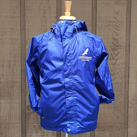 ja-022 blue cobalt wind breaker jacket