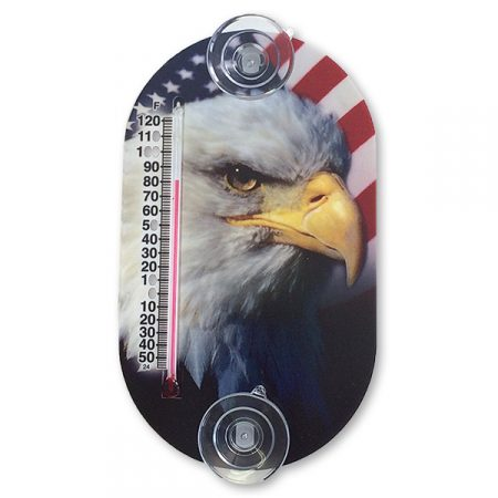 Thermometer - eagle themed with suction cups