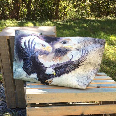 Eagle themed tote