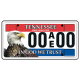 Tennessee AEF License Plate