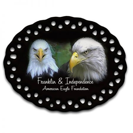 Franklin & Independence Christmas Ornament