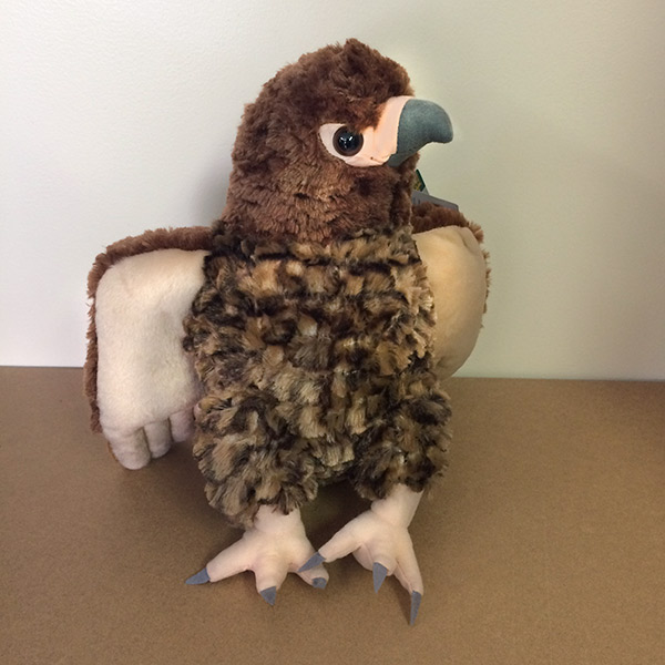 Plush Red Tailed Hawk 15 Tall American Eagle Foundation