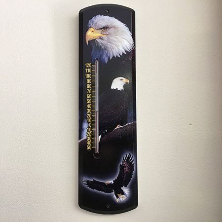mi-245 Bald Eagle Thermometer