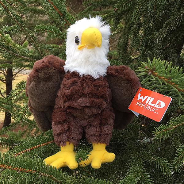 9 Tall Plush Bald Eagle Toy American Eagle Foundation