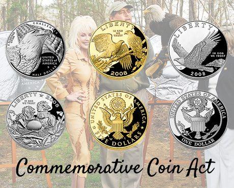 Bald Eagle Commemorative Coins Fund Eagle Conservation