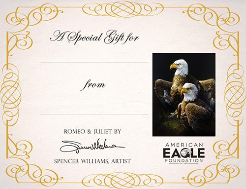 Romeo & Juliet Print Certificate
